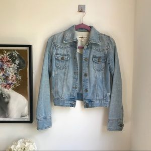 Mossimo light denim jacket XS